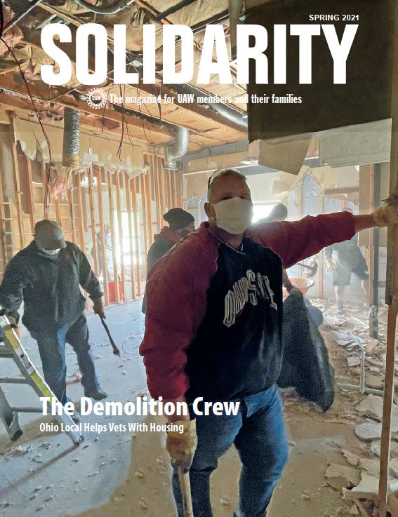 Solidarity Magazine Spring 2021